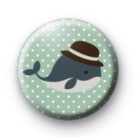Top Hat whale Badges