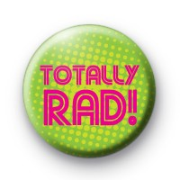 Totally RAD 80s Badges