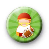 Toy Rugby Player badge