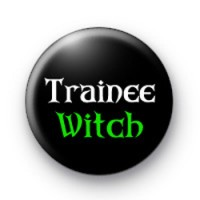 Trainee Witch Halloween Badges