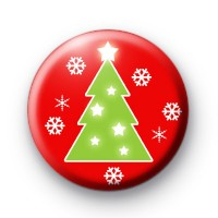 Christmas Tree and Snowflakes badges