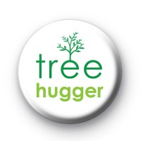 Tree Hugger Tree Button Badges