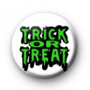 Trick or Treat Green badges
