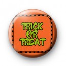 Trick or Treat Orange Badge
