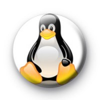 Linux Tux Penguin Badges