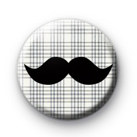 Tweed Movember Tash Badges
