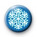 Two Tone Snowflake Badge