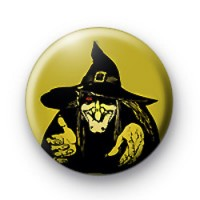 Ugly Halloween Witch Badges