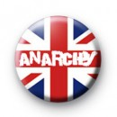 Union Jack Anarchy Punk Badge