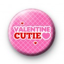Valentine Cutie Button Badges