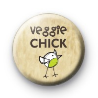Veggie Chick 2 Badges