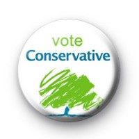 Vote Conservative Tory Election Badges