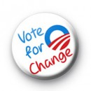 Vote for change Badges