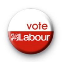 Vote Labour Election Badges