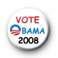 Vote Obama 2008 Badges