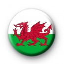 Welsh National Flag Badge