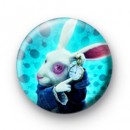 White Rabbit Badges