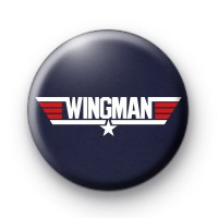Wingman Top Gun Button Badges