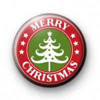 Wishing You A Merry Christmas Badge