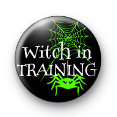 Witch in TRAINING badges