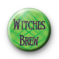 Witches Brew Button Badge