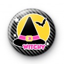 Witchy Witch Halloween Badges