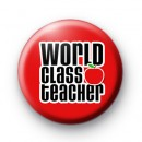 World Class Teacher Red Badge