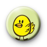 Yellow Easter Chick Badge