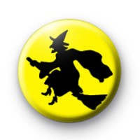 Yellow Witch Badge