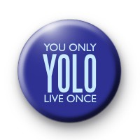YOLO Navy Blue Badges