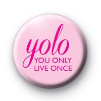 YOLO Pink Badges