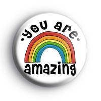 You Are Amazing Rainbow Badge Bulk Listing thumbnail