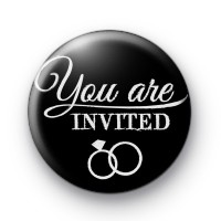 You Are Invited Badge