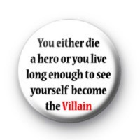 Harvey Dent quote badges