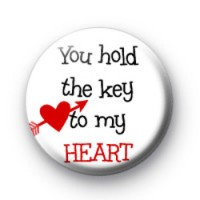 You hold the key to my HEART badges