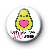 You're Everything I AVO Wanted Badge