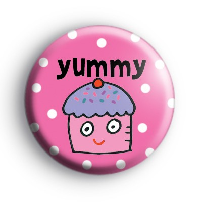 Yummy Cupcake Badge