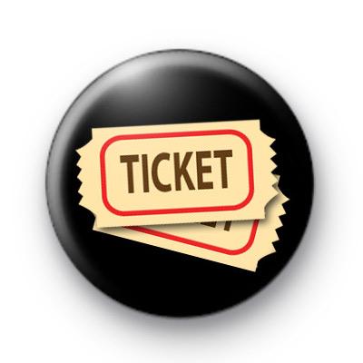 Movie Ticket Button Badge