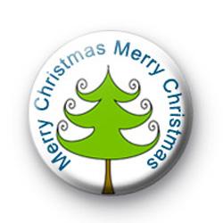 Merry Christmas Tree badges