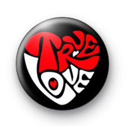 Funky True Love Badge