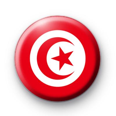 Tunisian Flag Badge