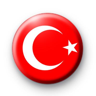 Turkey National Flag Badge
