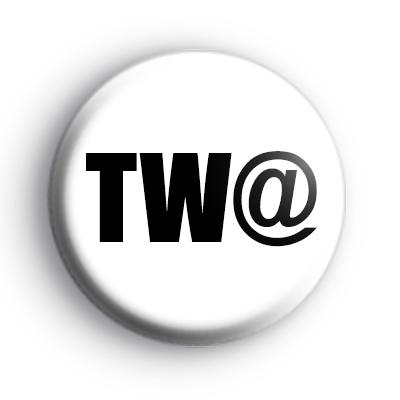 Twat Button Badge