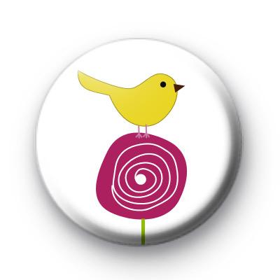 Spring Bird Tweet Badges