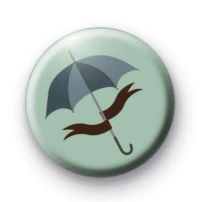 Umbrella Button Badge