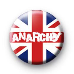 Union Jack Anarchy Punk Badge
