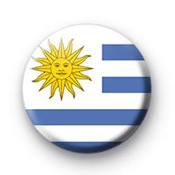 Uruguayan Flag Badge