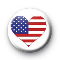 USA heart badges