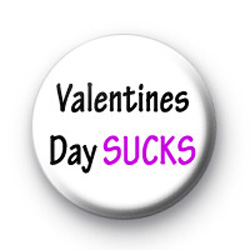 Valentines Day SUCKS badges