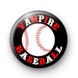 Vampire Baseball Badges